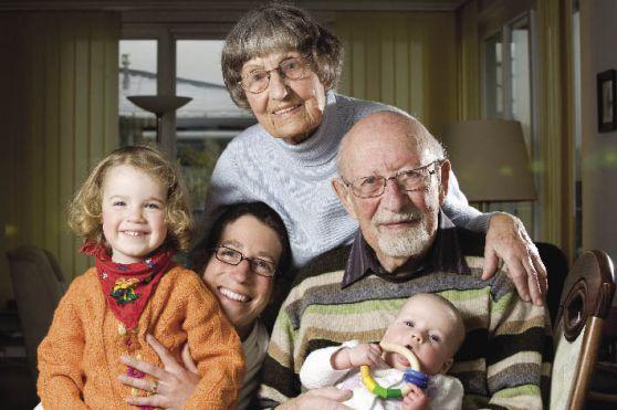 Envelhecer com a família