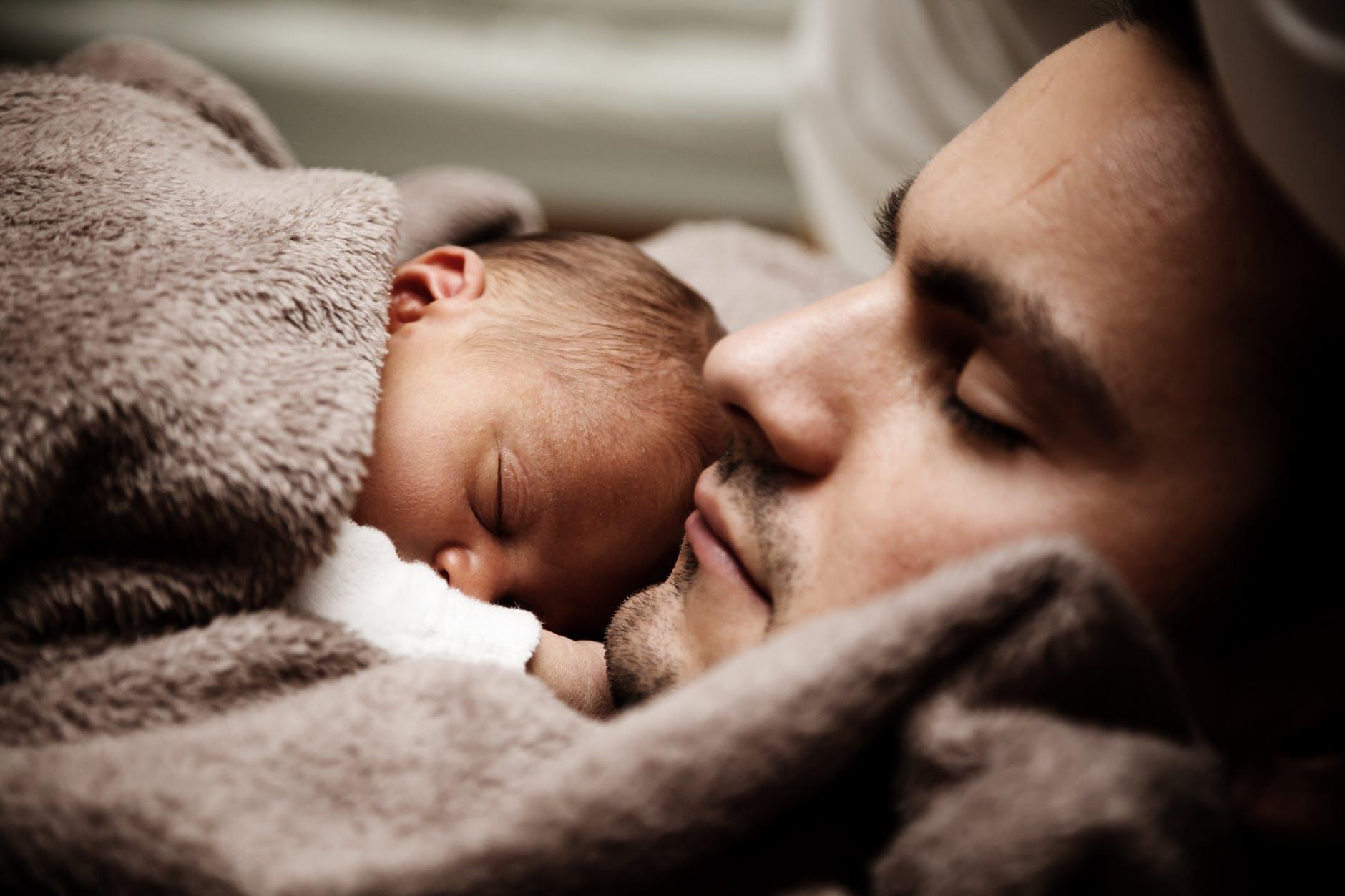 Durmo com o meu filho